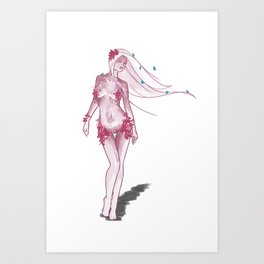 Nymph Light Art Print
