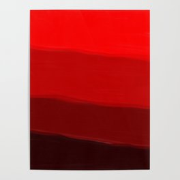 Ombre in Red Poster
