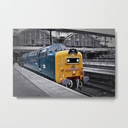 Kings Cross Blue Metal Print