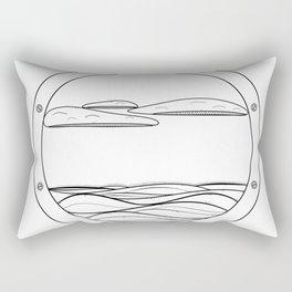 World Outside Rectangular Pillow