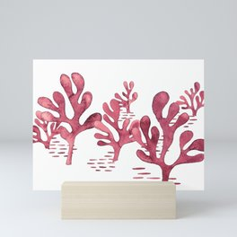 Simply seaweed - Illustration Mini Art Print