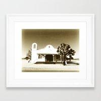 quentin tarantino Framed Art Prints featuring Kill Bill Church Quentin Tarantino by Chris Bergeron