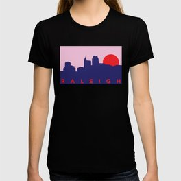Raleigh Night Skyline T-shirt