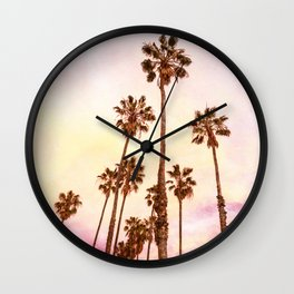 Coconut Groove #society6 #decor #lifestyle #buyart Wall Clock