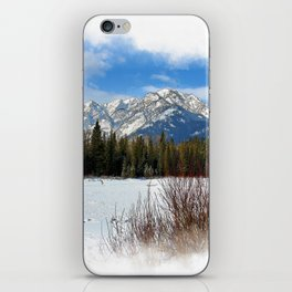 Scenic Cascade Mountain - Banff Alberta iPhone Skin