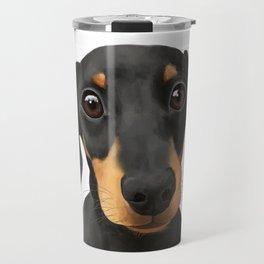 Cute Sausage Dog Travel Mug