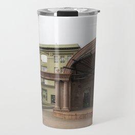 Empty of sound Travel Mug