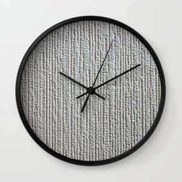 Wrinkled texture in a wall Wall Clock