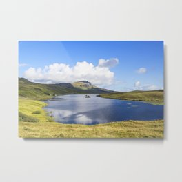 Loch Fada to the Storr 2 Metal Print