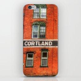Cortland Corset Company iPhone Skin