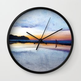 Reflections in the Water! Wall Clock