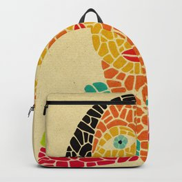 - la dame solaire - Backpack