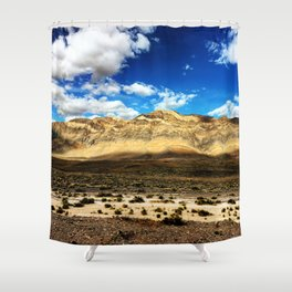 Death Valley Beauty Shower Curtain