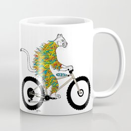 Mountain Lion bicycle ride Coffee Mug