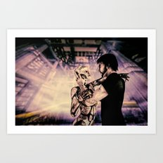 Secret Lovers Art Print