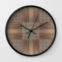 Digital embroidery Wall Clock