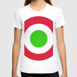 Coccarda italiana tricolore T-shirt