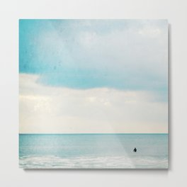 The surf, revisited Metal Print