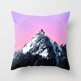Magic Mountain Throw Pillow