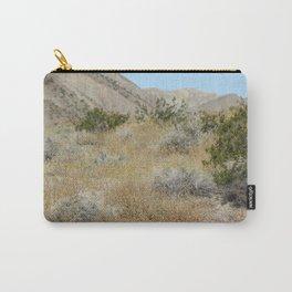 Wildflower Super Bloom 2019 Coachella Valley Wildlife Preserve Carry-All Pouch