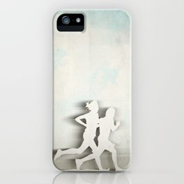 Runners iPhone Case