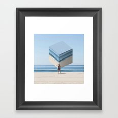 Cake by the Ocean Framed Art Print