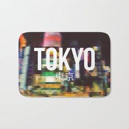 Tokyo - Cityscape Bath Mat