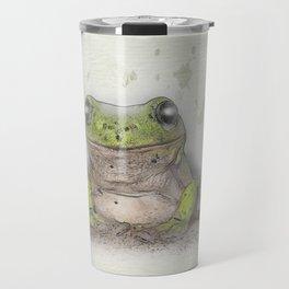 Jeremiah was a bullfrog Travel Mug
