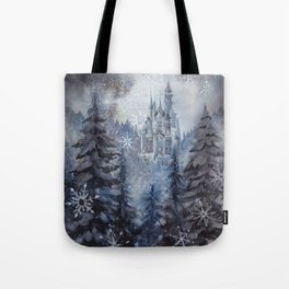 Snow Starlight Tote Bag