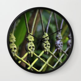 New Orleans - Anne Rice Fence Wall Clock