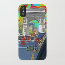 Painted Town iPhone Case