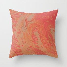 Orange Dream Throw Pillow