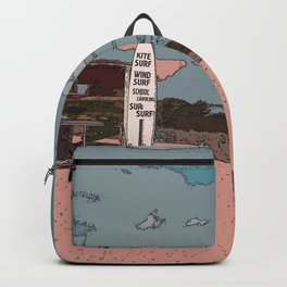 BEACH AND A SURF Backpack