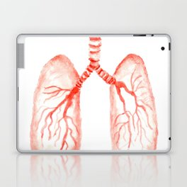 Human lungs Laptop & iPad Skin