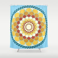 vector Shower Curtains featuring Vector 3 by Ace of Spades