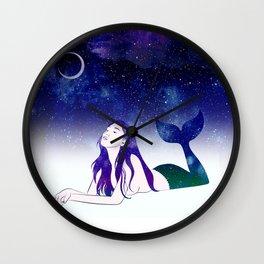 Starry Siren Wall Clock