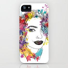 spring girl iPhone Case