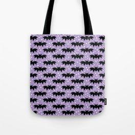 aloha bats on grape Tote Bag