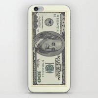 the 100 iPhone & iPod Skins featuring 100$ by Dano77