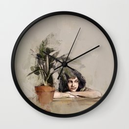Mathilda (Leon:The Professional) Wall Clock