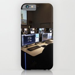 Photos of the Launch Vehicle Data Center in Hangar AE - Room 1 of LVDC iPhone Case
