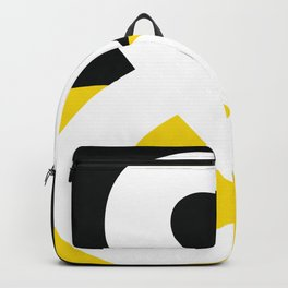 Black and Yellow Backpack