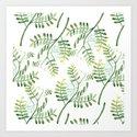 Forest Ferns Pattern by floralpatterns