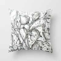 lace Throw Pillows featuring Lace by Isdsfsf