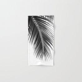 Palm Leaves Black & White Vibes #5a #tropical #decor #art #society6 Hand & Bath Towel