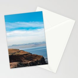 Road trip by the coast | Lanzarote island | Fine art travel photography | Stationery Cards