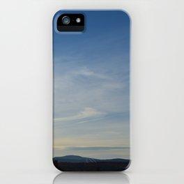 Fruitlands Blue Sky iPhone Case