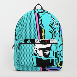 Dropping a bombshell on Pop Art Backpack