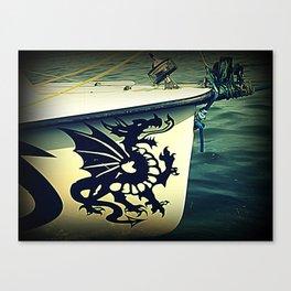 dragonero Canvas Print