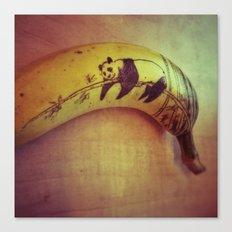Bananapanda Canvas Print